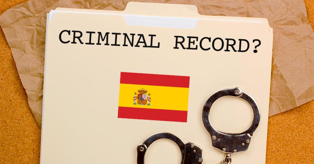 Criminal Record Certificate in Spain.
