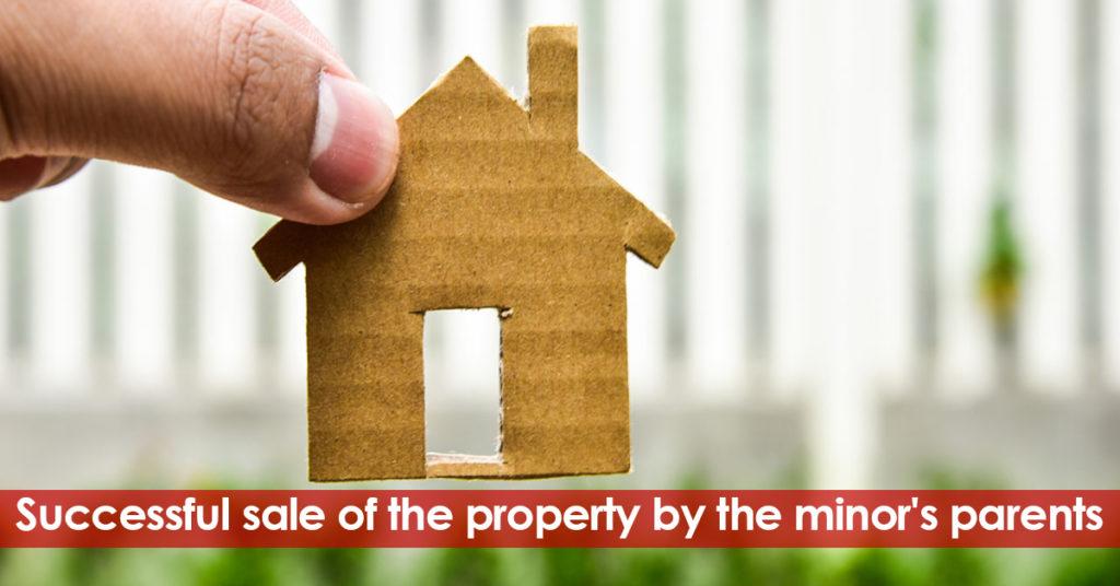 Property Sale by a minor