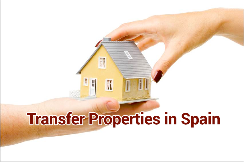 The cheapest way to transfer properties between spouses.