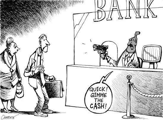 Banks abuses in Spain.