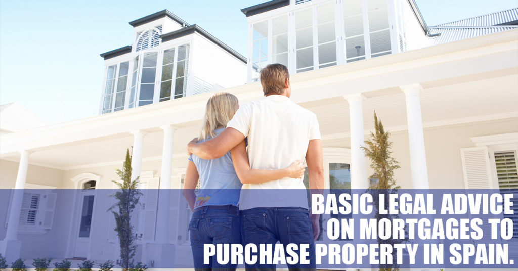 Consejos legales básicos sobre préstamos hipotecarios para la compra de viviendas en España.
