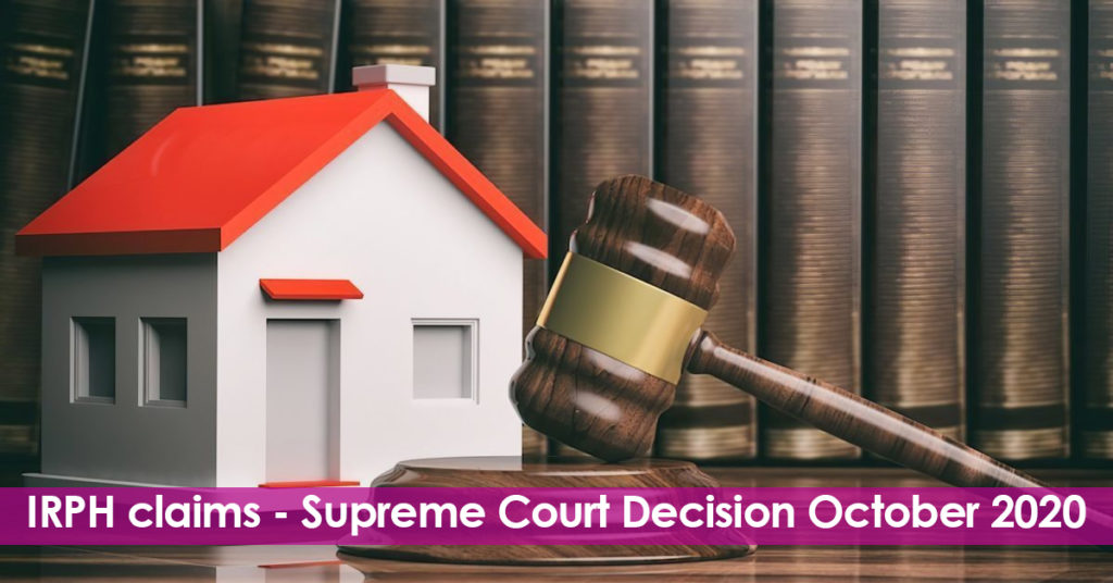 Revision and comments on the Supreme Court Decision on IRPH. How this affect IRPH claims. Could you claim now?.