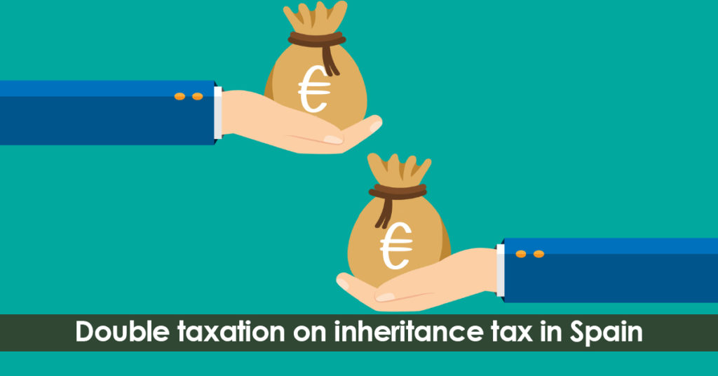 Double taxation in inheritance tax in Spain.