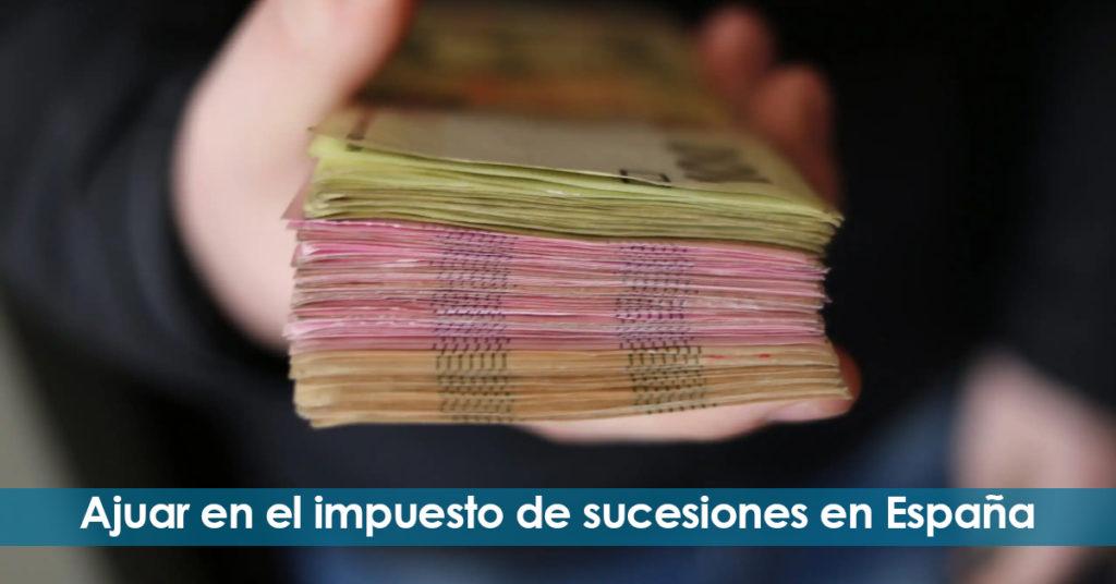 Ajuar en el impuesto de sucesiones en España