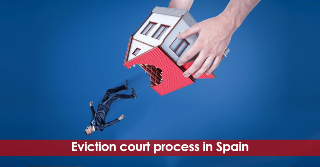 court process concerning eviction in Spain. Works and Precarius