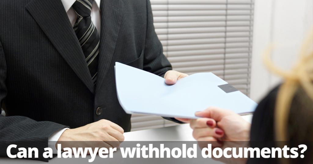 Spanisches Recht Verpflichtung zur Rückgabe von Dokumenten.