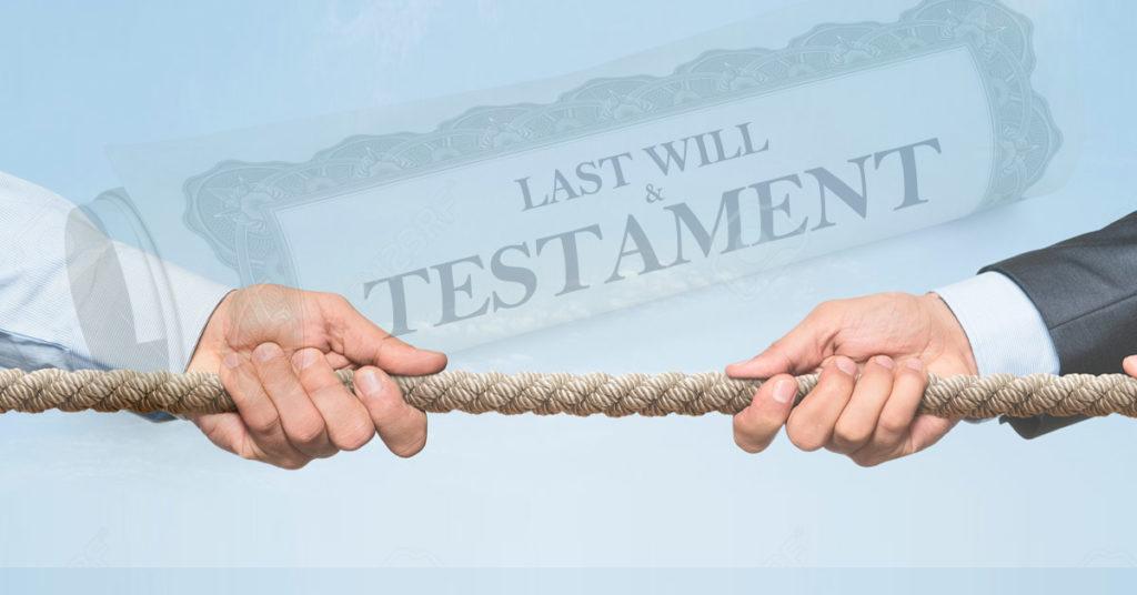 Contestation d'un testament espagnol