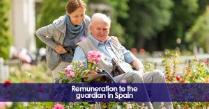 Remuneration to the guardian in Spain